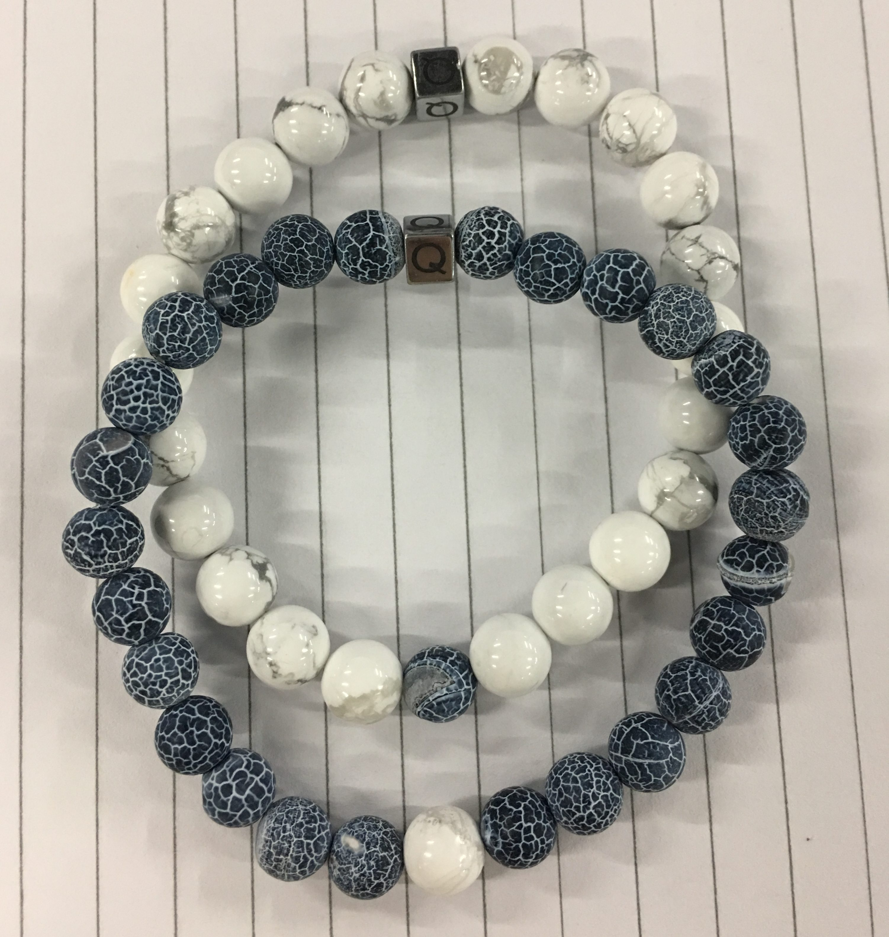 The Twin Natural Stone Friendship Bracelet