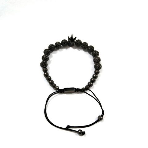 The Black Royal Crown Bracelet