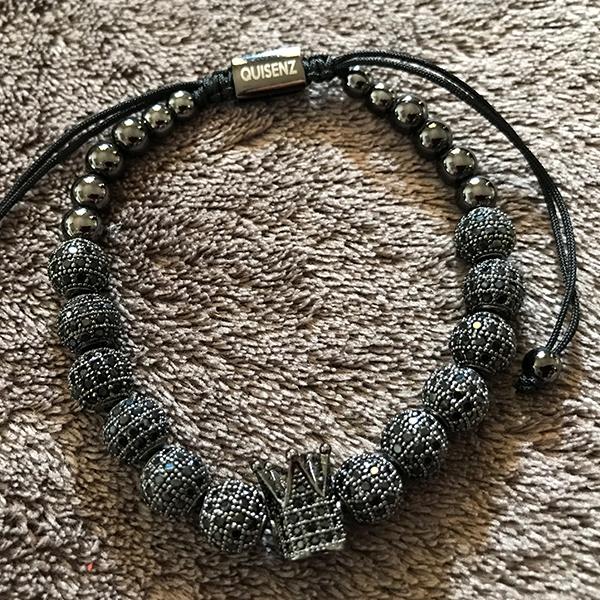 The Black Royal Crown Bracelet