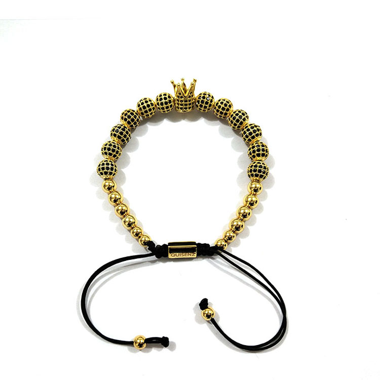 The Gold Royal Crown Bracelet