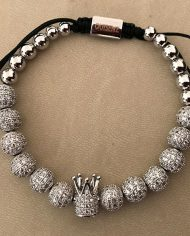 The Platinum Royal Crown Bracelet