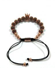 The Rose Gold Royal Crown Bracelet