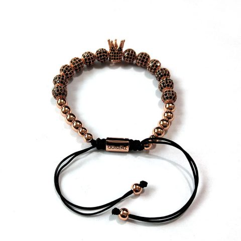 The Rose Gold Royal Crown Bracelet